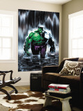 Incredible Hulk 77 Cover: Hulk Wall Mural by Lee Weeks