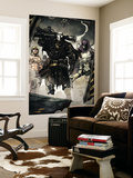 Secret Warriors 7 Group: Scourge, Ghost, Headsman and Ant-Man Wall Mural by Alessandro Vitti