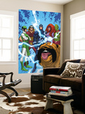 Uncanny X-Men: First Class No.1 Group: Black Bolt, Medusa, Lockjaw, Karnak, Gorgon and Triton Wall Mural by Roger Cruz
