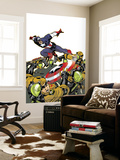 Captain America V4, No.26 Cover: Captain America Wall Mural by Dave Johnson