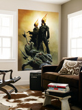 Ghost Riders: Heavens On Fire No.1 Cover: Ghost Rider Wall Mural by Jae Lee