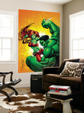 Hulk Team-Up No.1: Lyra and Hulk Wall Mural by Steve Scott