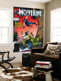 Wolverine No.5 Cover: Wolverine Wall Mural by John Buscema