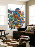 Marvel Team Up No.1 Cover: Wolverine Wall Mural by Scott Kolins