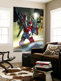 Ultimate Iron Man II No.5 Cover: Iron Man Wall Mural by Pasqual Ferry