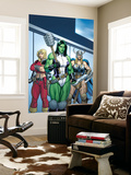 Hulk No.7 Group: She-Hulk, Valkyrie and Thundra Wall Mural by Arthur Adams