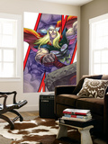 Avengers: Earths Mightiest Heroes 3 Cover: Thor and Mjolnir Wall Mural by Scott Kolins