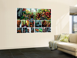 Secret Invasion No.1 Group: Iron Fist, Cage, Luke, Iron Man and Wonder Man Wall Mural by Leinil Francis Yu