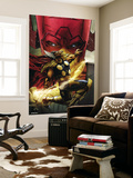 Beta Ray Bill: Godhunter No.1 Cover: Beta-Ray Bill and Galactus Wall Mural by Patrick Zircher