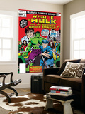 What If No.2 Cover: Hulk, Thunderbolt Ross, Banner and Bruce Wall Mural by Herb Trimpe