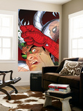 Doc Ock: Negative Exposure 4 Cover: Doctor Octopus and Spider-Man Wall Mural by Tony Harris