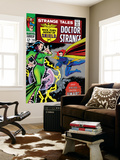 Strange Tales 150 Cover: Dr. Strange and Umar Wall Mural by Bill Everett