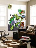 Fin Fang Four Return! No.1 Cover: Fin Fang Foom Wall Mural by Roger Langridge