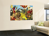 Astonishing Tales No.1 Cover: Wolverine Premium Wall Mural by Kenneth Rocafort