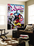 Uncanny X-Men No.268 Cover: Black Widow, Wolverine and Captain America Wall Mural by Jim Lee