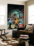 Steve Ellis - Hulk: Winter Guard No.1 Cover: Darkstar, Crimson Dynamo, Ursa Major, Red Guardian and Hulk Nástěnný výjev