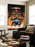 Captain America And The Falcon 8 Cover: Captain America and Modok Wall Mural by Joe Bennett