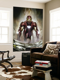 Iron Man: Director Of S.H.I.E.L.D. #30 Cover: Iron Man Mural