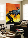 Hercules No.5 Cover: Hercules Wall Mural by Mark Texeira
