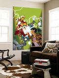 Warlock No.4 Cover: Adam Warlock, Chin and Janie Wall Mural by Charlie Adlard