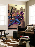 Marvel Adventures Super Heroes No.14 Cover: Hawkeye Wall Mural by David Williams