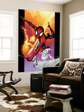 Ultimate Spider-Man No.118 Cover: Spider-Man, Iceman and Firestar Wall Mural by Stuart Immonen