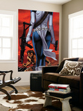 Wolverine No.64 Cover: Wolverine and Mystique Wall Mural by Ron Garney