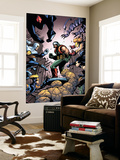 Marvel Team-Up No.18 Cover: Chronok, Thing, Speedball and X-23 Wall Mural by Paco Medina