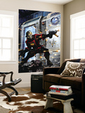Guardians Of The Galaxy No.9 Cover: Star-Lord Wall Mural by Clint Langley
