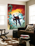 Civil War: House Of M No.4 Cover: Magneto Wall Mural by Mike Perkins