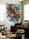 Avengers: The Initiative No.19 Group: 3-D Man, American Dream and Komodo Wall Mural by Harvey Tolibao