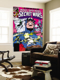 Secret Wars 7 Cover: Captain America, Spider Woman, Doctor Octopus and Wolverine Wall Mural by Mike Zeck