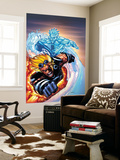 X-Men No.201 Cover: Iceman and Cannonball Wall Mural by Humberto Ramos