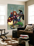 Marvel Adventures The Avengers No.21 Cover: Hulk Wall Mural by Leonard Kirk