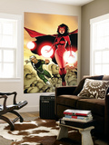 The Mighty Avengers No.24 Cover: Scarlet Witch and Quicksilver Wall Mural by Khoi Pham