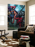 Ultimatum 4 Cover: Spider-Man, Daredevil, Dr. Strange and Hulk Wall Mural by David Finch