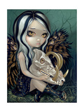 Babirusa Skull Photographic Print by Jasmine Becket-Griffith