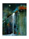 Night Falls A Photographic Print by Ruth Palmer