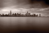 Chicago Storm Photographic Print by Steve Gadomski