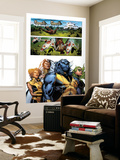 Astonishing X-Men No.32 Group: Beast, Brand, Abigail, Armor and Storm Wall Mural by Phil Jimenez