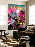 The Mighty Avengers No.21 Cover: Wasp, Jocasta and Scarlet Witch Wall Mural by Khoi Pham