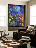 Secret Invasion: Inhumans 4 Group: Black Bolt, Medusa, Karnak, Gorgon, Crystal and Triton Wall Mural by Tom Raney