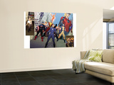 Incredible Hulk 601 Group: Captain America Wall Mural by Ariel Olivetti