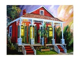 New Orleans Shotgun Photographic Print by Diane Millsap