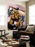 Dark Wolverine No.75 Group: Thing, Human Torch, Invisible Woman and Mr. Fantastic Wall Mural by Giuseppe Camuncoli