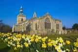 Church In Spring Impressão fotográfica por Charles Bowman