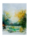 Watercolor 905082 Giclee Print by Ledent