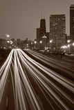 Chicago's Lake Shore Drive BW Photographic Print by Steve Gadomski