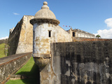 Walls of San Cristobal Fort, San Juan Photographic Print by George Oze
