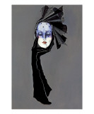 Mask with title Giclee Print by Frederick Watson